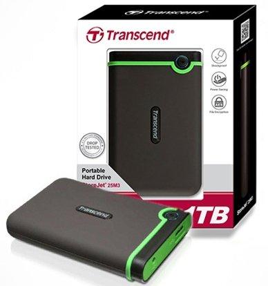 Transcend Hard Drive 1TB